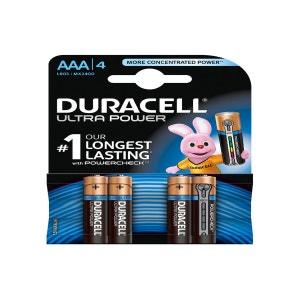 Pile DURACELL AAA x4 Ultra Power LR03 DURACELL