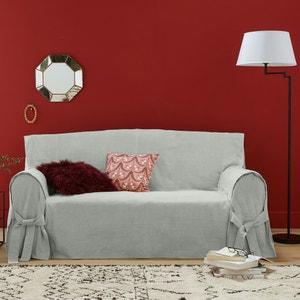 JIMI Linen/Cotton Sofa Cover La Redoute Interieurs