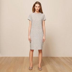 Kleid, Leinen-Baumwoll-Mix POMANDERE