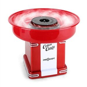 Candyland 2 Machine à barbe à papa rétro 500W -rouge ONECONCEPT