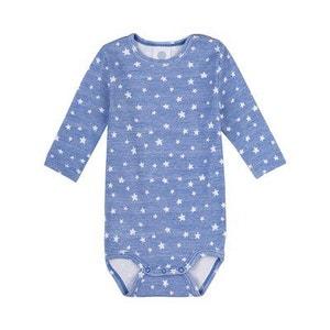 SANETTA Le body à manches longues «étoiles» bébé SANETTA