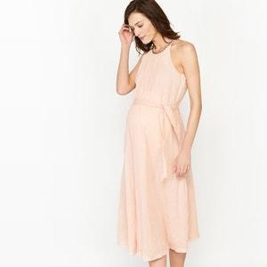 Robe de grossesse, cérémonie, détails brillants R essentiel