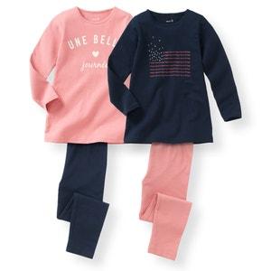 2er-Pack Pyjamas, 2-12 Jahre La Redoute Collections