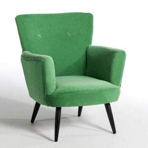 fauteuil vert la redoute. Black Bedroom Furniture Sets. Home Design Ideas