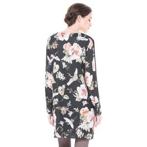 Korte jurk met lange mouwen CHARLISE