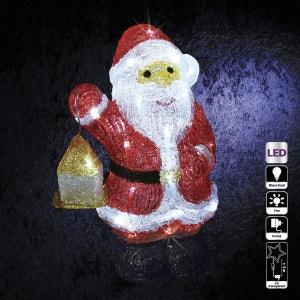 Décoration de Noël lumineuse d'extérieur - Père Noël FEERIE CHRISTMAS