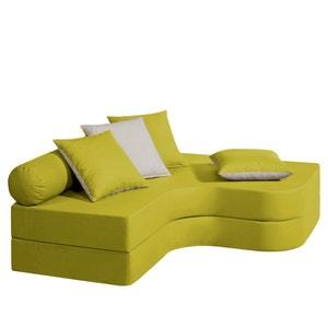 Hoek bankbed, mousse comfort, kindermaat, Meeting La Redoute Interieurs