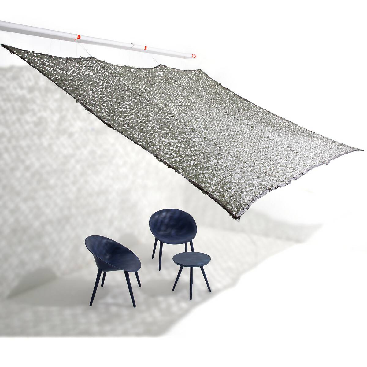 Voile d'ombrage camouflage Havina
