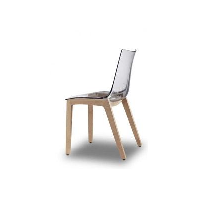 Chaise transparente design Natural Zebra par SCAB Design SCAB DESIGN