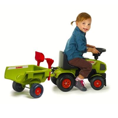 Porteur Tracteur Baby Claas avec remorque, pelle et râteau inclus -  FAL1012C FALK 574c96bb09e6