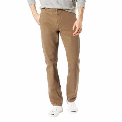 Pantalon   Smart 360 Flex Alpha stretch Slim tapered Leather camel Pantalon   Smart 360 Flex Alpha stretch Slim tapered Leather camel DOCKERS