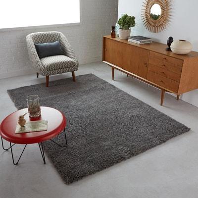 tapis shaggy aspect laineux afaw tapis shaggy aspect laineux afaw la redoute - Tapis Gris Et Blanc