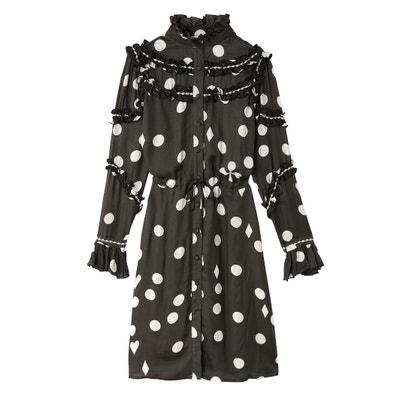 Ruffled Polka Dot Button-Up Dress Ruffled Polka Dot Button-Up Dress KOCHE X LA REDOUTE