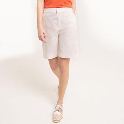 Short coupe large, coton/lin La Redoute Collections