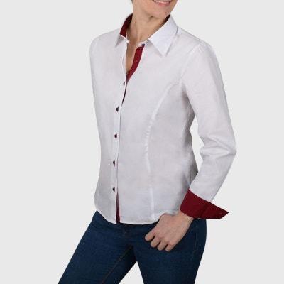 En Blanc Femme La Chemisier Solde Cintre Redoute 7nOqwxTva e279d7a8ff8
