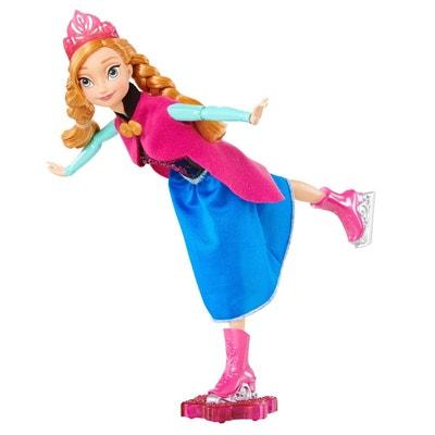 Poupée La Reine des Neiges (Frozen) : Anna reine du patinage Poupée La Reine des Neiges (Frozen) : Anna reine du patinage MATTEL