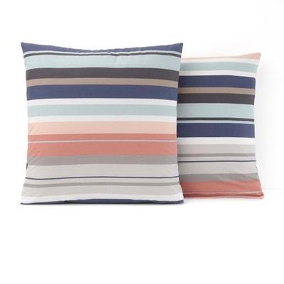 Funda de almohada de algodón MIDTOWN Funda de almohada de algodón MIDTOWN La Redoute Interieurs