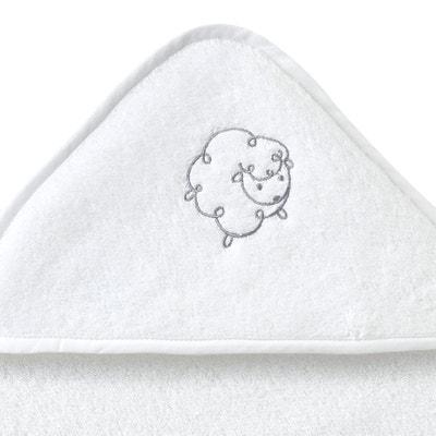 Little Sheep Towelling Bath Cape Set Little Sheep Towelling Bath Cape Set La Redoute Interieurs