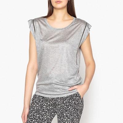 T-Shirt mit rundem Ausschnitt, unifarben IKKS