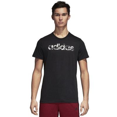 Tee shirt  col rond manches courtes imprimé devant ADIDAS PERFORMANCE