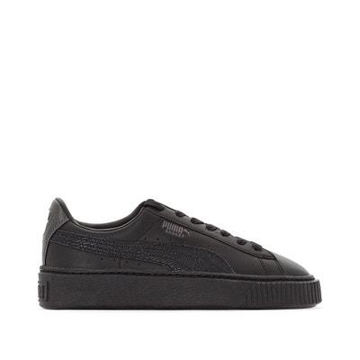 Buty sportowe na szerokiej podeszwie Platform Metallic PUMA