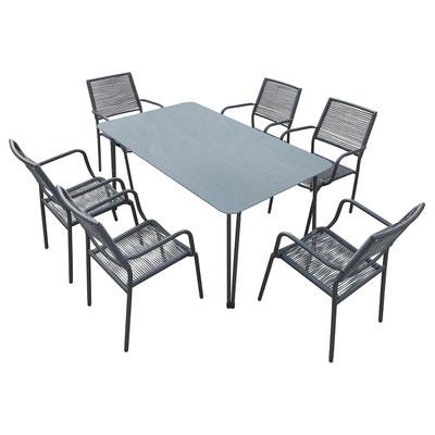 Ensemble Table Chaise De Jardin En Solde La Redoute