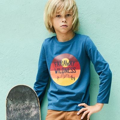 T-shirt manches longues 3-12 ans T-shirt manches longues 3-12 ans La Redoute Collections