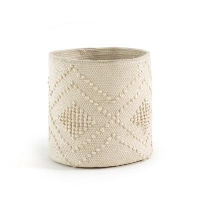 VOLOS Hand-woven Cotton Basket VOLOS Hand-woven Cotton Basket La Redoute Interieurs