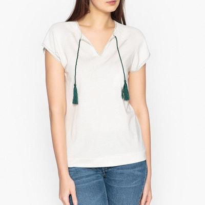 Dual Fabric T-Shirt IKKS