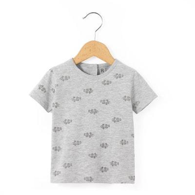 T-Shirt, runder Ausschnitt, bedruckt T-Shirt, runder Ausschnitt, bedruckt La Redoute Collections