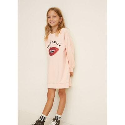 Robe sweat-shirt sequins Robe sweat-shirt sequins MANGO KIDS