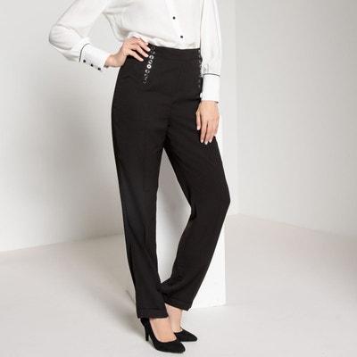 Redoute En La Haute Taille Solde Droit Pantalon 4RqxfYw0O