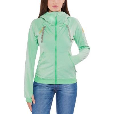 Sender - Couche intermédiaire Femme - turquoise EDELRID