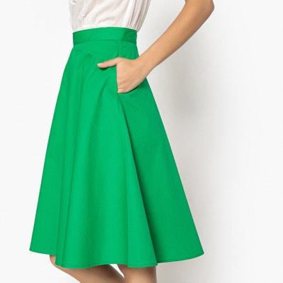 Flared Poplin Cotton Skirt Flared Poplin Cotton Skirt MADEMOISELLE R