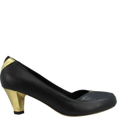 Chaussures femme en cuir emmy denim  Pring Paris  La Redoute