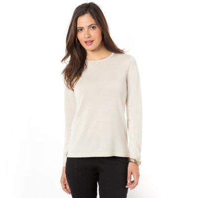 Crew-Neck, Fine-Knit Jumper/Sweater ANNE WEYBURN