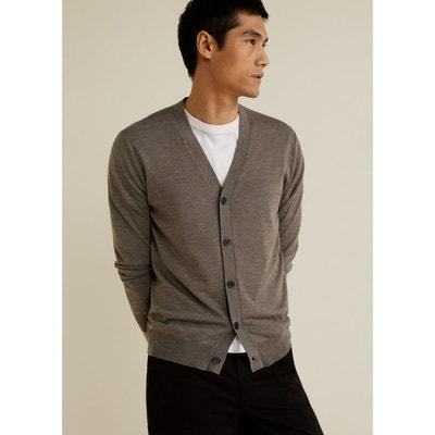 Cardigan 100 % laine Cardigan 100 % laine MANGO MAN 1e4488d788d6