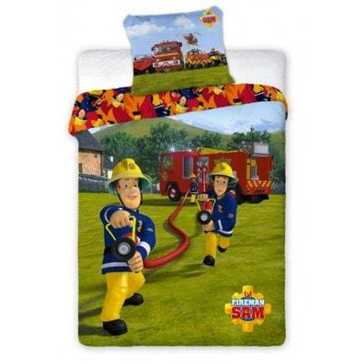 Housse de couette enfant sam le pompier la redoute - Housse de couette sam le pompier ...