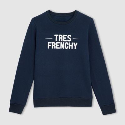 Camiseta sudadera con mensaje -  Fabricada en Francia La Redoute Collections