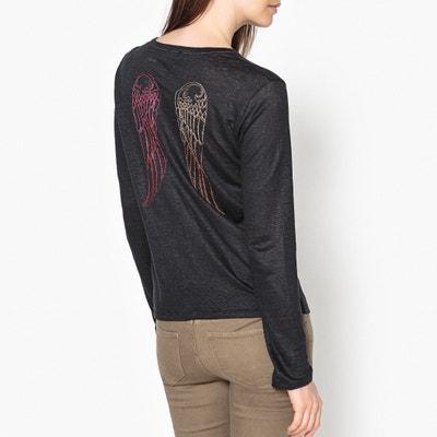 Shirt LOULOU aus Leinen, lange Ärmel BERENICE