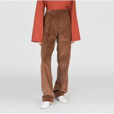 Pantalon droit velours côtelé DA/DA Diane Ducasse