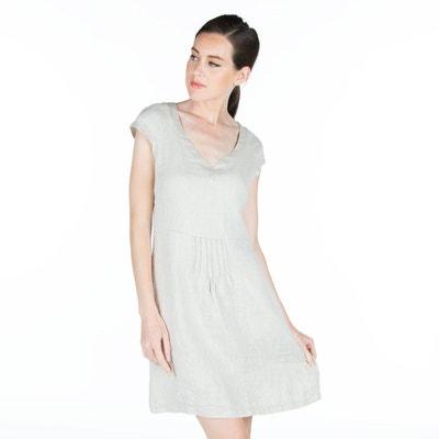 La En Lin Robe Grande Taille Solde Redoute Xwqzq