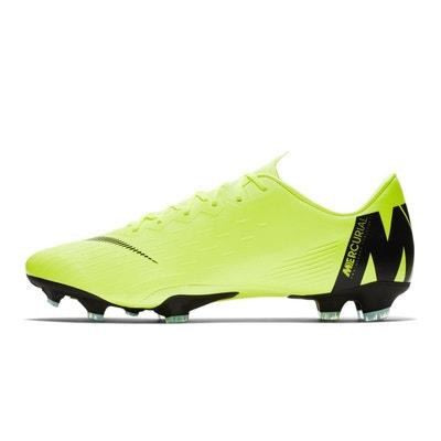 Chaussures football Nike Mercurial Vapor XII Pro FG Jaune Chaussures  football Nike Mercurial Vapor XII Pro 87fc1dd85ed1