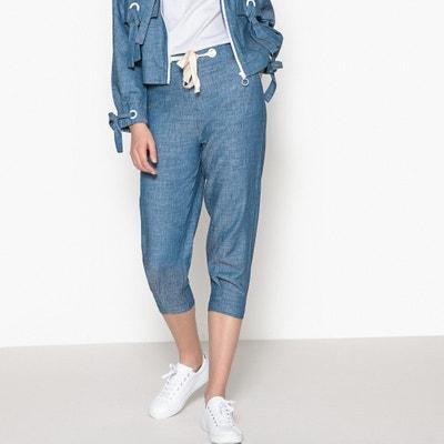 Pantaloni a pinocchietto slim in twill MADEMOISELLE R