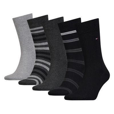Chaussettes hautes (lot de 5 paires) Chaussettes hautes (lot de 5 paires) TOMMY HILFIGER