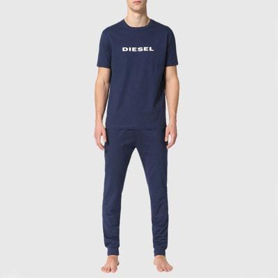 Pyjama met korte mouwen in zuiver katoen Pyjama met korte mouwen in zuiver katoen DIESEL
