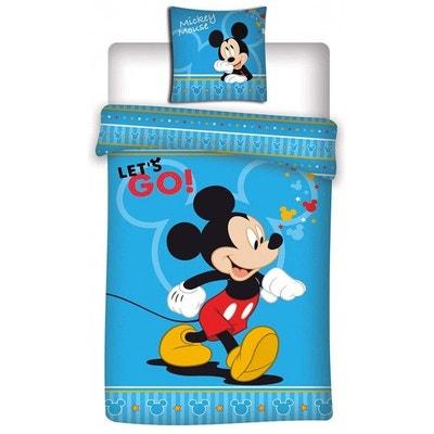 Mickey Disney Go - Parure de Lit Enfant - Housse de Couette Mickey Disney Go - Parure de Lit Enfant - Housse de Couette MICKEY