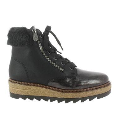 83ba4d543ed0a chaussures à lacets textile RIEKER