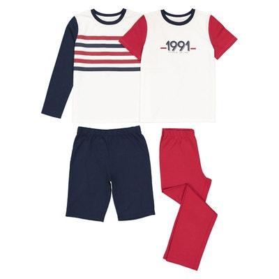 Lot de pyjashort et pyjama 3-12 ans Lot de pyjashort et pyjama 3-12 ans LA REDOUTE COLLECTIONS