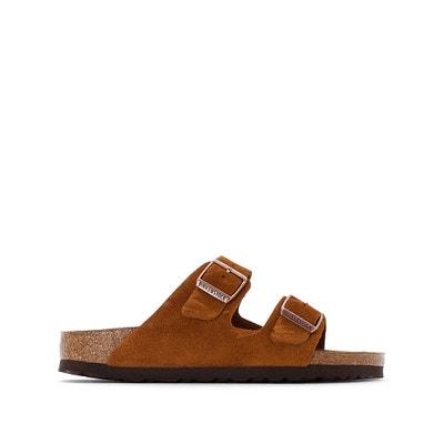 Туфли без задника кожаные с открытым мыском Arizona SFB Туфли без задника кожаные с открытым мыском Arizona SFB BIRKENSTOCK